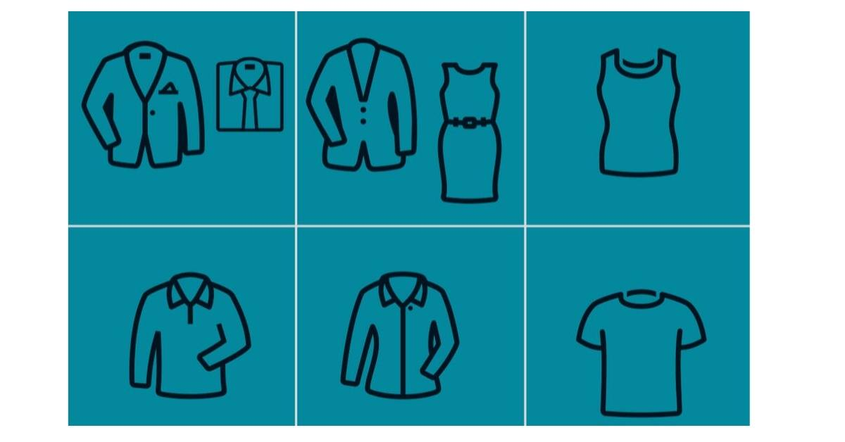 What should I wear to a job fair or interview?