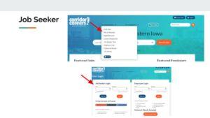 How to find Work Wanted job seeker tool on Corridor Careers